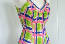 Vintage Bathing Suits / 40's and 50's Vintage Bathing Suits