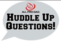 All Pro Dad / All Pro Dad is Family First's innovative and unique program for every father. / by iMOM