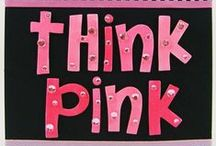 Craft Pink For Breast Cancer Awareness / Pink and Breast cancer inspired crafts and cards / by Craft-e-Corner Oshkosh, WI
