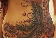 Inked and Pierced / Inspiration for future body art/mods.