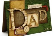 Father's Day / This board is all about dad and boys! Check out a wide variety of masculine cards and other crafts.