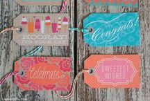 Craft Tags & More / Craft tags, gift tags, thank you tags, more tags / by Craft-e-Corner Oshkosh, WI