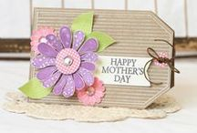 Mother's Day Crafts / All things mom. Find project ideas and inspiration for gifts and cards.