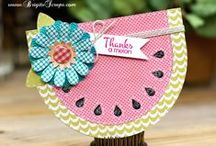 Summer Crafts / Summer crafting inspirations and projects for travel, kids, summer reunions, parties or just fun in the sun! / by Craft-e-Corner Oshkosh, WI