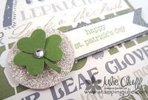 St. Patricks Day / All things green and Irish for St. Paddy's Day craft inspiration / by Craft-e-Corner Oshkosh, WI