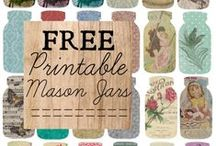 Free Printables & Fonts / by Craft-e-Corner Oshkosh, WI