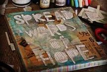 Journaling with Art...Mixed Media / What I wish I could do with my Journals. / by Trish Rademacher