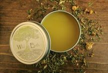 Wild Earth Apothecary / All-natural, affordable botanical based skin care solutions. Crafted on a small scale with big love. Visit http://wildearthllc.com to learn more.  All natural deodorant, face wash, soaps, salves, balms and more.