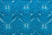 Knitting help and stitch patterns / A variety of interesting knitting stitch patterns