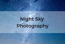 Night Sky Photography / A collection of techniques and skills for photographing the night sky.  This includes the milky way, moon and aurora borealis