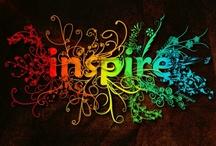 Inspiring Words / Inspiring! / by Cynthia Reece