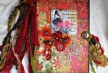 Journals, Mix Media & Home Made Books / I love doing Mix Media, Journals and making little books.  This board will have different ideas, information, and tips for those who share the same love.  Please give credit where credit is due ... keep feeding the artist! / by Nikoya Mills