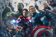 Avengers Assemble! / Arguably the best superhero movie ever, played by the most epic cast imaginable.  Also, the movies that precede and follow it.  That whole Avengers universe. / by Megan Bellamy