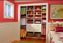 Closet Ideas & Tips / by Michaela Raygoza
