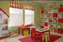Play Area/Toy Organization / by Michaela Raygoza