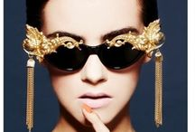 It's on your eyes ˚˚ / Glasses and Sunglasses that cover your lovely eyes. Fashionable, classy or chic. / by Manu Luize