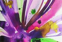 Watercolor Inspiration / Water Colours I Like