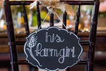 Wedding Ideas. / I married my best friend on, November 8, 2014! Here are some wedding ideas I love and the country rustic pins were based off of ideas from our wedding. / by Brittany Bolner