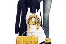 Outfits / Style tips, ideas for clothes combinations, how to wear scarves and pretty things.
