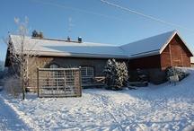 My home / Our home is a renovated barn, built in 1898. The meter-thick walls are of granite, and inside them lives a happy family.