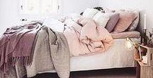 Calming Bed & Bath / My dream home deb and bathroom decor ideas. #dreamhome #bedroom #bathroom #bedbathdecor