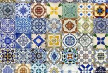 Cool Ceramics Around the World / Ceramic tiles, hand-painted or otherwise, azulejos, ceramic objects, ceramic decoration, and ceramic art from around the world.