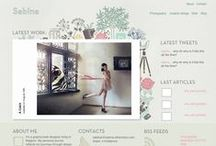 WEBDESIGN / by Florence S. (La Mouette)