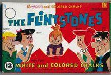 Bedrock / Fred, Wilma & Pebbles Flintstone, Barney, Betty & Bam Bam Rubble / by Laurie Zeiden