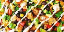 Salad Recipes / Healthy, quick, and easy salad recipes! #healthy #easy #quick #proteinpacked #salads