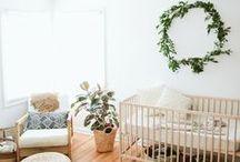 Nursery Decor / Interior design for nursery, baby's room, nursery decor