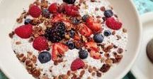 Healthy Breakfast Ideas / Check out this board for healthy easy breakfast ideas and breakfast recipes the whole family will enjoy.   #breakfast #easybreakfastideas #breakfastideas #easy #healthy #quick #breakfastrecipes