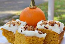 Pumpkin treats / by Jenna Davis