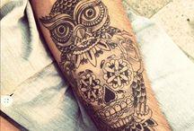 tattoos & piercings  / by Ally Marini
