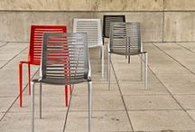 Tables and Chairs / Designed by acclaimed landscape architects and product designers, these beautiful, high quality outdoor seating solutions address a broad range of price points and site furniture requirements.  / by Landscape Forms