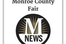 Monroe County Fair / The 2017 Monroe County Fair is July 30-Aug. 5 at the Monroe County Fairgrounds in Monroe MI. Info is at www.monroecountyfair.com