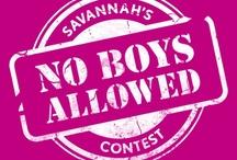 Savannah's No Boys Allowed