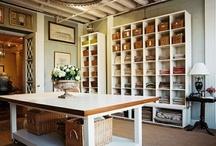 Sewing studio--garage conversion