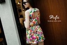 Floral Apparel / 2013 New Trend in Fashion