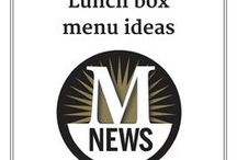 Lunch box ideas / What's for lunch? We found some brown bag ideas that might interest you and the kids.