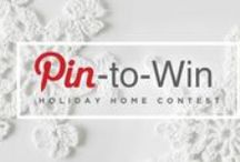 My Holiday Home / Pin to WIN: Holiday Home by Yarnspirations