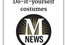 """DIY costumes / Look for """"haunting Halloween"""" costume inspiration with these clever ideas for kids and grownups."""