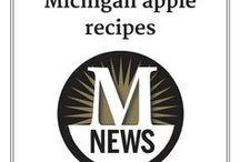 Apple Recipes / We've picked some terrific recipe ideas for the Michigan apple season!