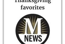 Thanksgiving favorites / Recipes and ideas for Thanksgiving dinner
