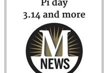 Pi day / Pi Day puns, recipes and other fun in honor of March 14.