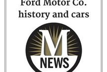 Ford cars / We're in southeast Michigan, the heart of the American automotive industry. For many years, a Ford plant was sited in Monroe itself.