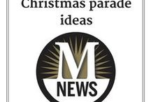 Christmas parade ideas / The Monroe News is a presenting sponsor of Christmas Magic in Monroe - Parade and Winter Wonderland. #MagicInMonroe
