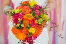 WEDDING -  Bouquets/Flowers / by Morgie Leigh