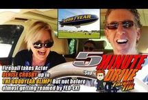 """5MINUTE DRIVES / SUBSCRIBE to the Show! http://www.youtube.com/fireballtim Fireball Tim's 5MINUTE DRIVE is the ONLY """"Talk Show from a Car"""" airing on THE AUTO CHANNEL. http://fireballtim.com/subscribe/"""