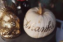 """Thanksgiving + Fall"" / Thanksgiving + fall ideas and decor"