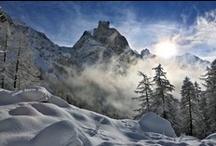 Paysage d'hiver / winter landscapes